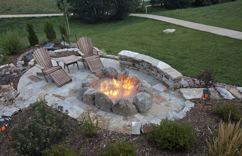 Fire Pit Paving in Cornelius, North Carolina