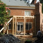Framing Backyard Design, Mooresville, NC