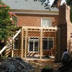 Framing Backyard Design, Mooresville, NC