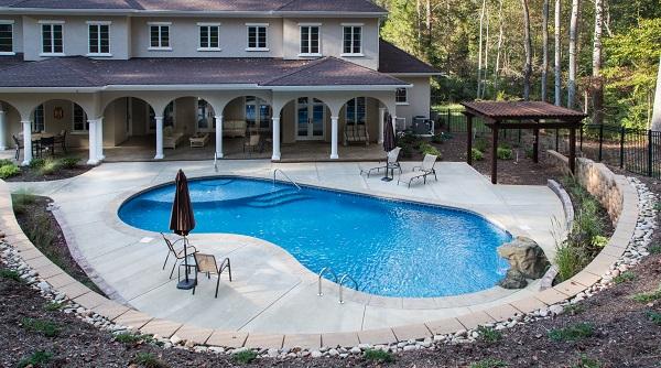 Inground Swimming Pools, Mooresville, NC