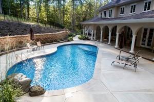 Custom Swimming Pools, Lake Norman, NC