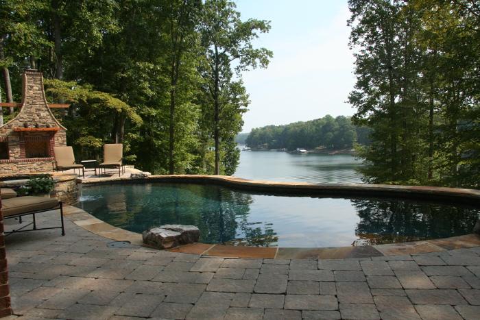 Swimming pool builders, Lake Norman, NC