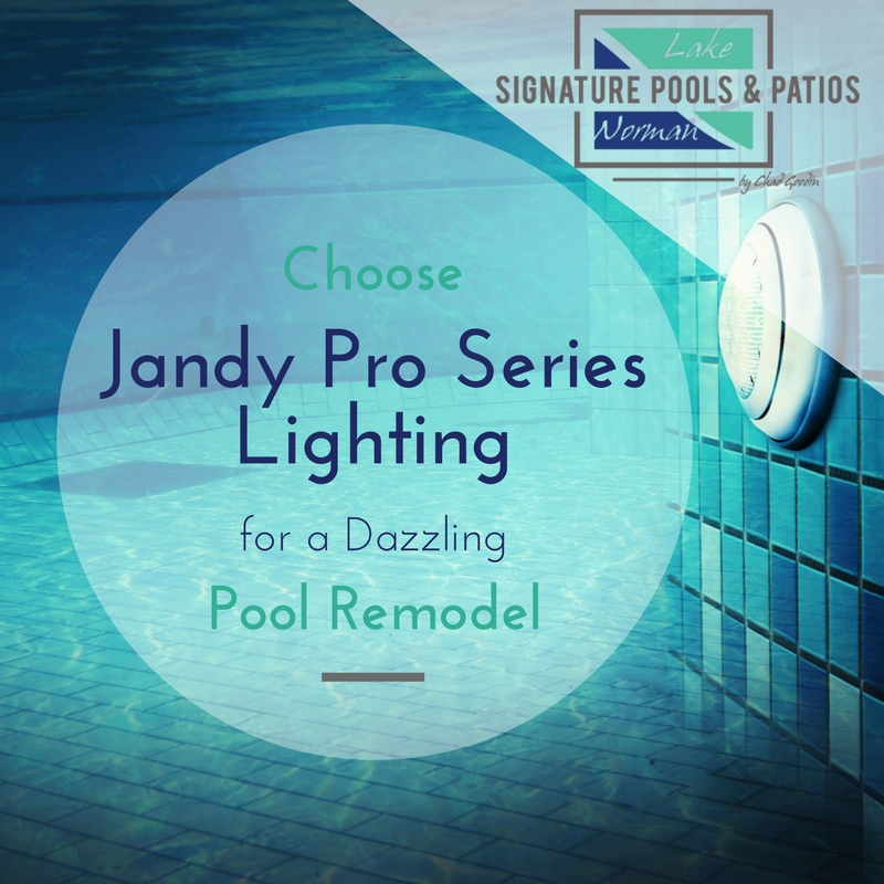 Choose Jandy Pro Series Lighting for a Dazzling Pool Remodel