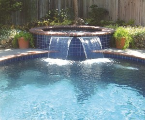 pool landscaping in Mooresville, NC