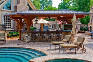 We Build Outdoor Kitchens
