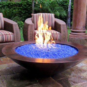 What are fire glass fire pits and how do they work lake for Repurpose inground swimming pool