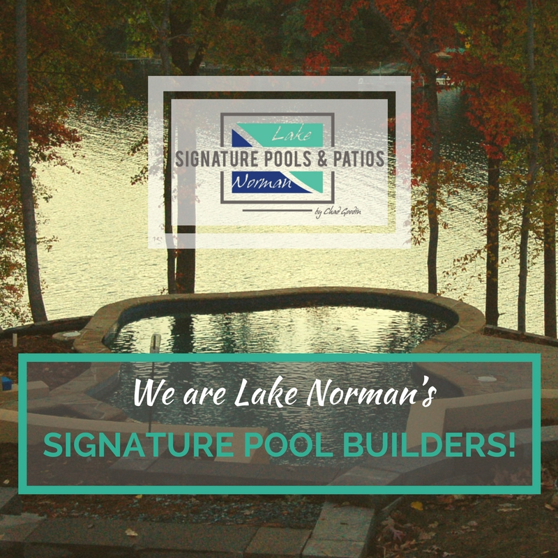 We are Lake Norman's Signature Pool Builders!