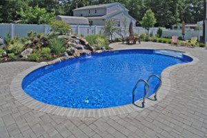 pool deck paving