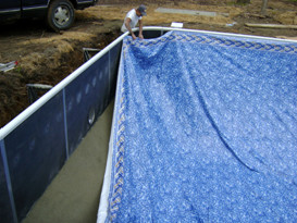 Pool Construction in Mooresville, NC