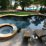 Pool Landscaping, Mooresville, NC