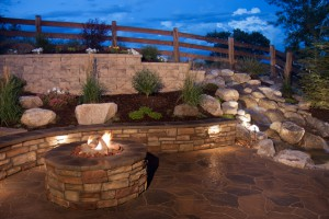 Fire Pit Paving