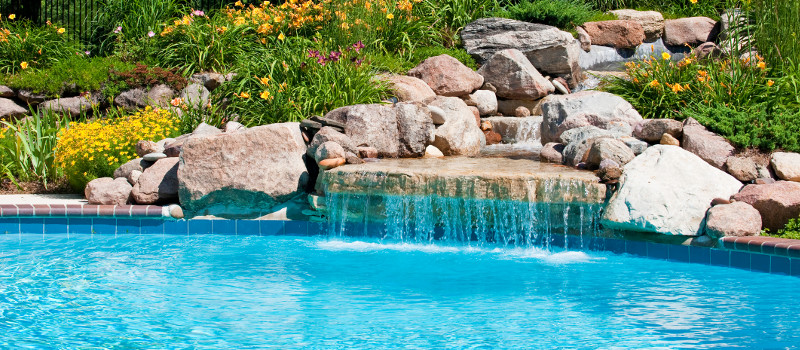 Custom Swimming Pools in Huntersville, North Carolina