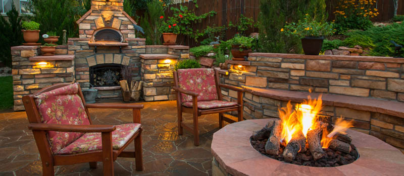 Backyard Design in Denver, North Carolina