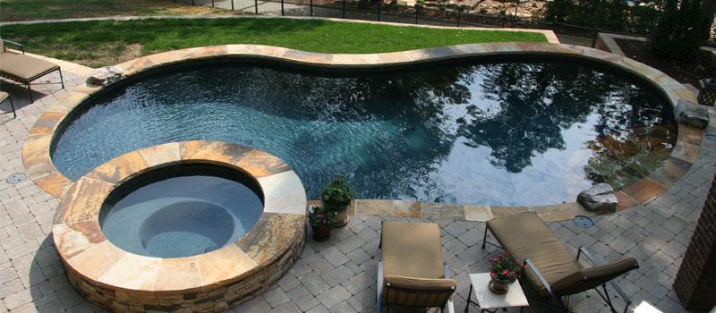 Custom Swimming Pools in Denver, North Carolina