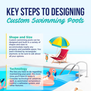 Key Steps to Designing Custom Swimming Pools [infographic]